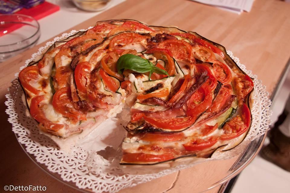 pizza ortolana senza glutine